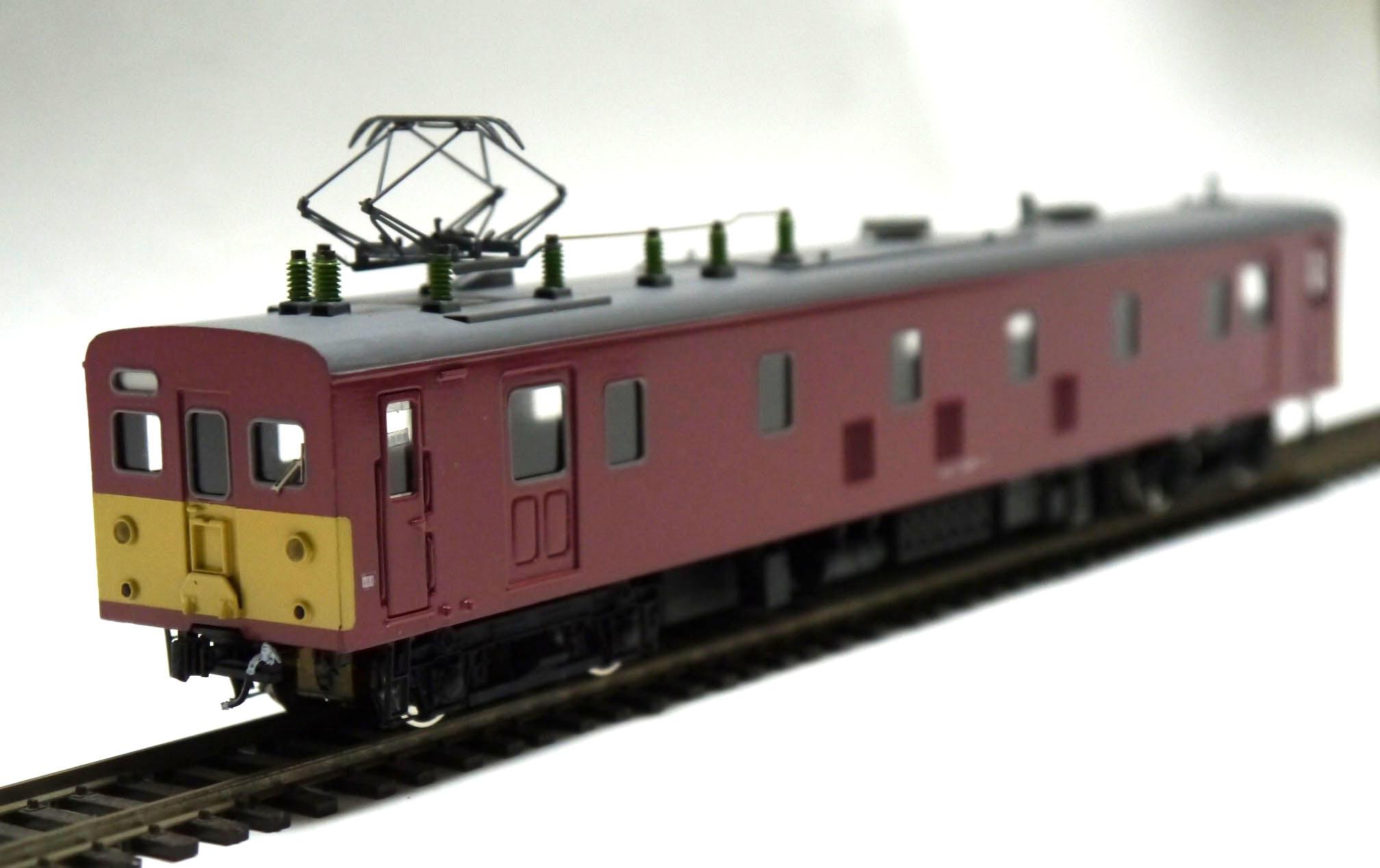ブラス(真鍮)電車